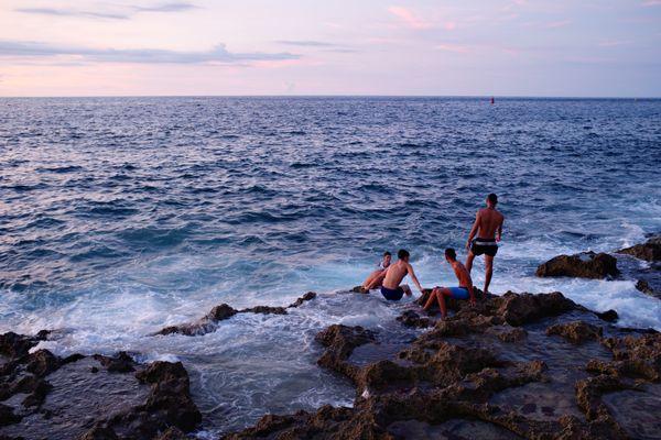 Evening Swim thumbnail
