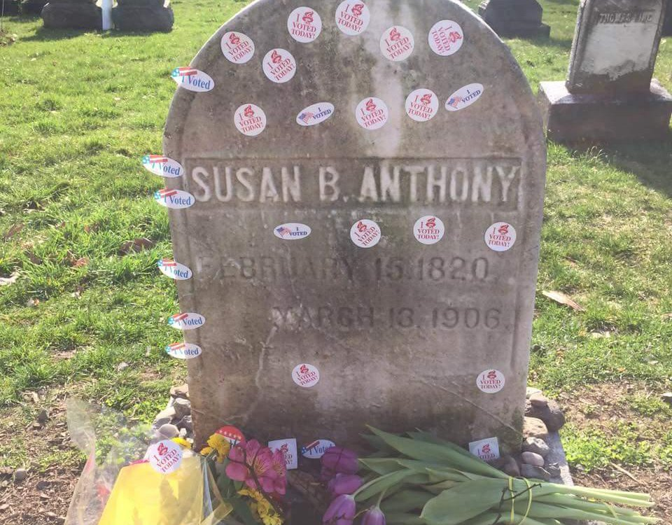 Susan B. Anthony's Grave