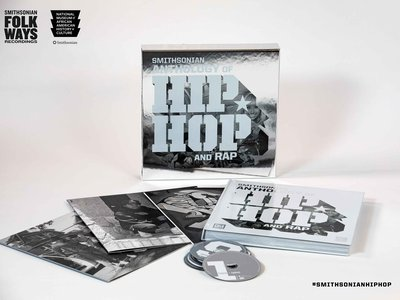 """The Smithsonian Anthology of Hip Hop and Rap tracks the evolution of the genre from its music to its culture and to its people. """"Everything that is part of hip-hop,"""" says the Smithsonian's Dwandalyn Reece, curator of music and performing arts."""