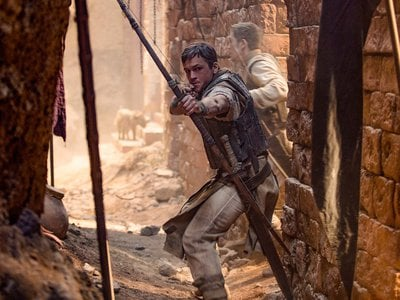 Directed by Otto Bathurst, Robin Hood stars Taron Egerton in the title role, with Jamie Foxx as Little John, Ben Mendelsohn as the Sheriff of Nottingham and Eve Hewson as Marian.