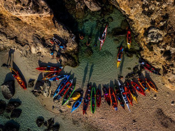 Kayaking Golden Hour thumbnail