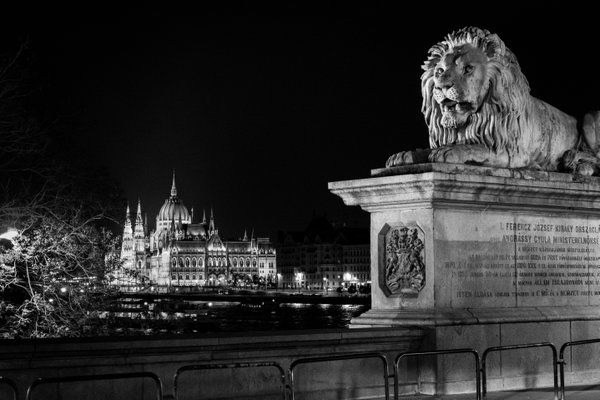 The lion and Hungarian parliament thumbnail