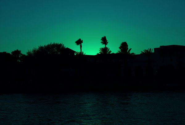 Sunset at Baldwin Park, Orlando Florida thumbnail
