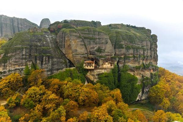 A hidden monastery in Meteora, Greece thumbnail