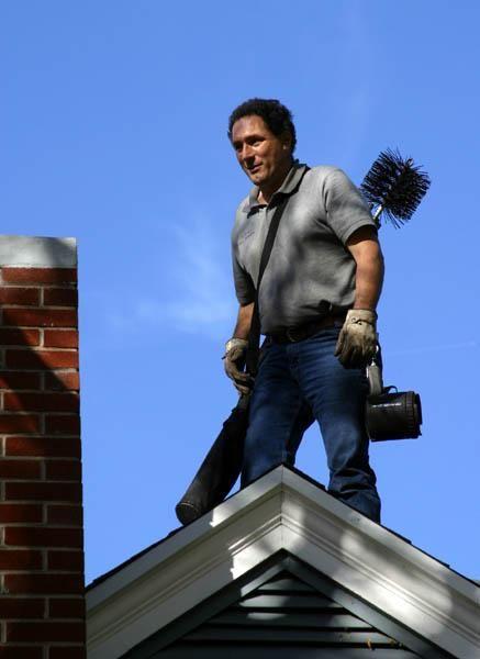 Modern chimney sweep