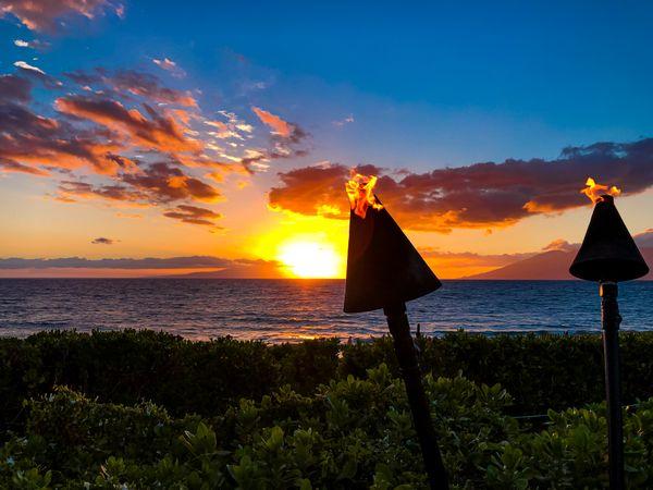 Maui Luau Sunset thumbnail