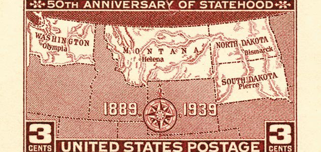 Anniversary of Statehood stamp