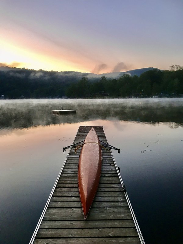 Sunrise on Lake St. Catherine Vermont thumbnail