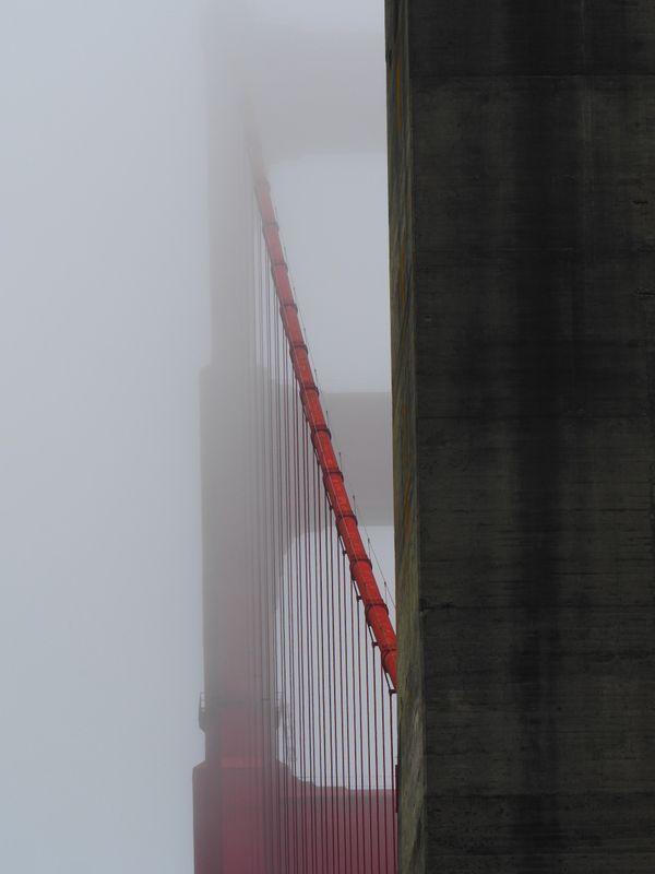 Golden Gate Bridge - From Below thumbnail