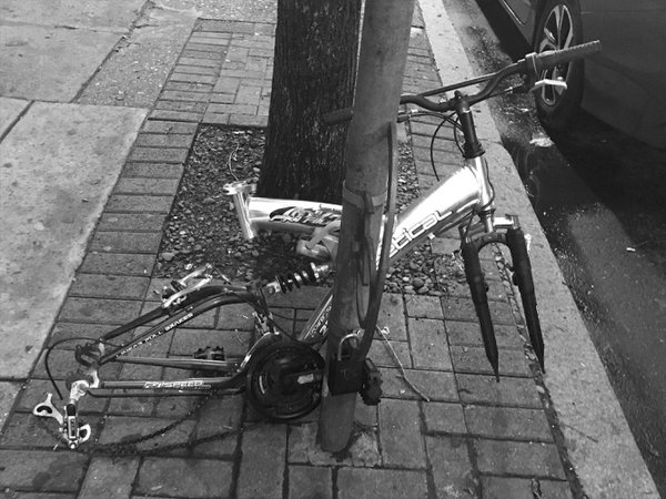 Yet another bike ravaged by crime in Philadelphia thumbnail