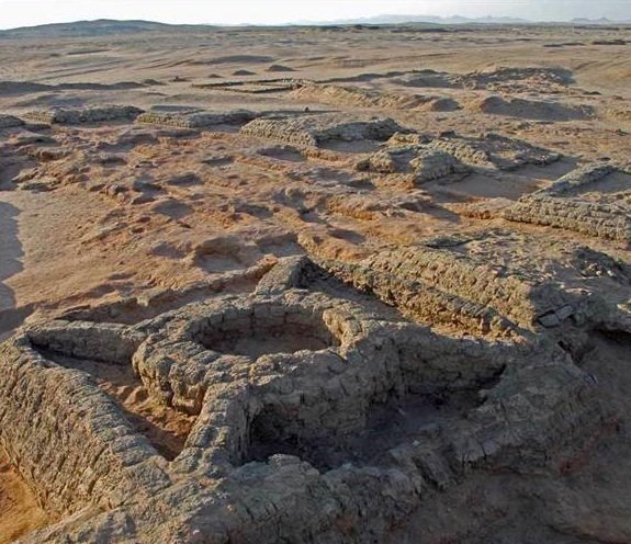 Some of the newly discovered pyramids