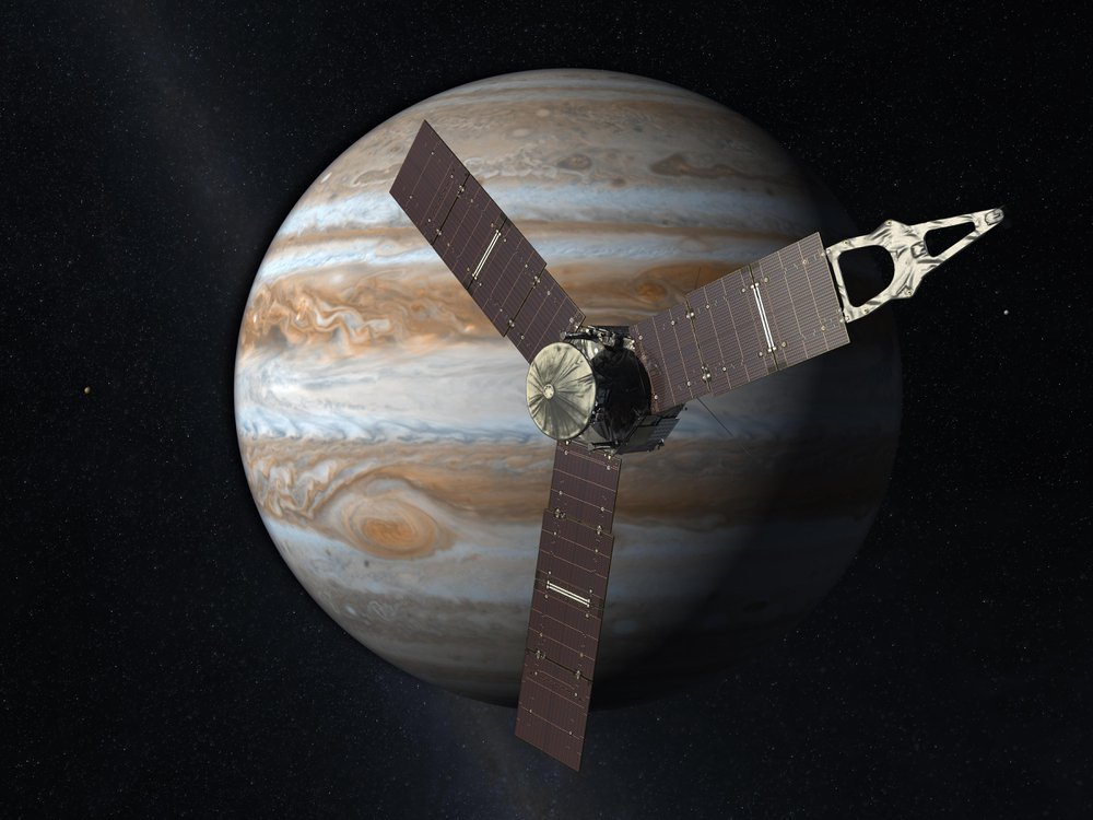 Juno Jupiter Flyby