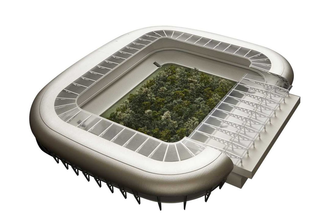 Curator Will Plant 299 Trees in a Stadium to Make Statement on Climate Change