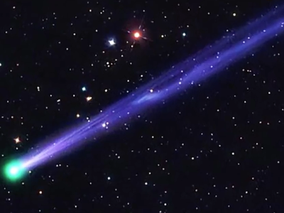 Comet 45P/Honda-Mrkos-Pajdušáková as seen in October 2011
