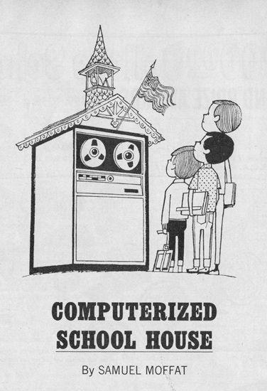 1968′s Computerized School of the Future