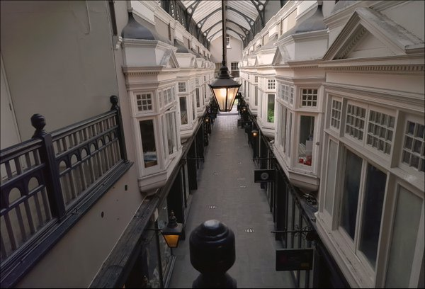 Arcade in Central Cardiff 2. Camera: Samsung Galaxy M31 thumbnail
