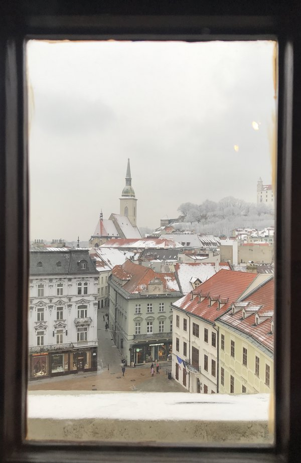Window view of Bratislava thumbnail