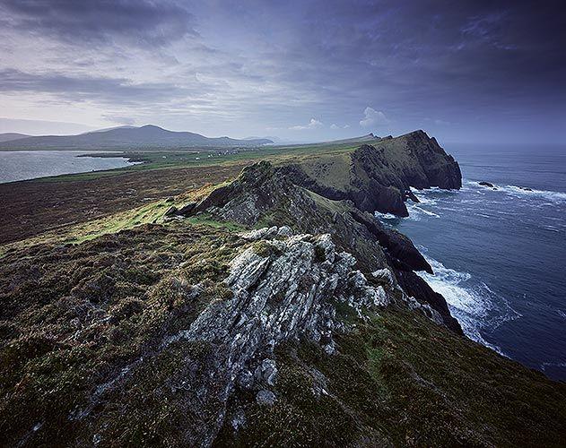 County Kerry Ireland rocky cliffs