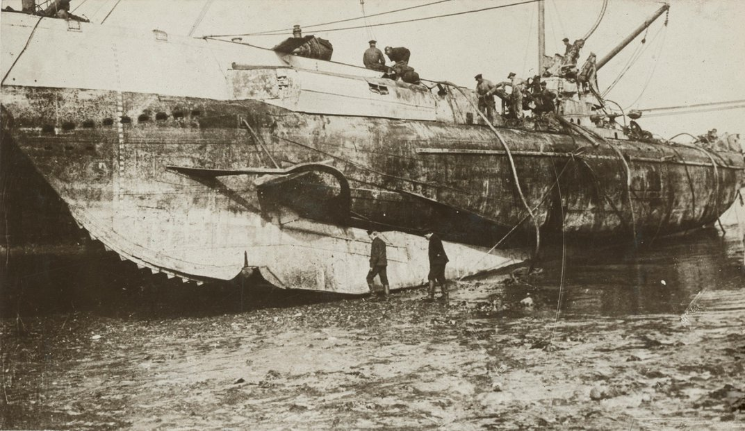 Wreck of U-Boat Sunk Off English Coast During WWI Explored for the First Time