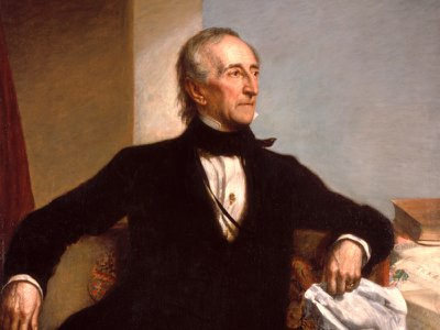 President John Tyler was born in 1790 and died in 1862.