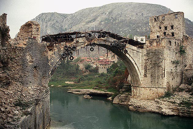 Bridge of Mostar Bosnia and Herzegovina