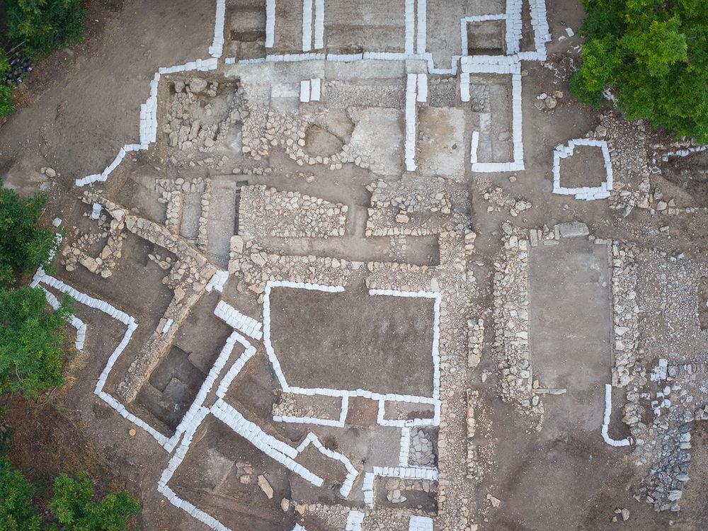 Palace excavation