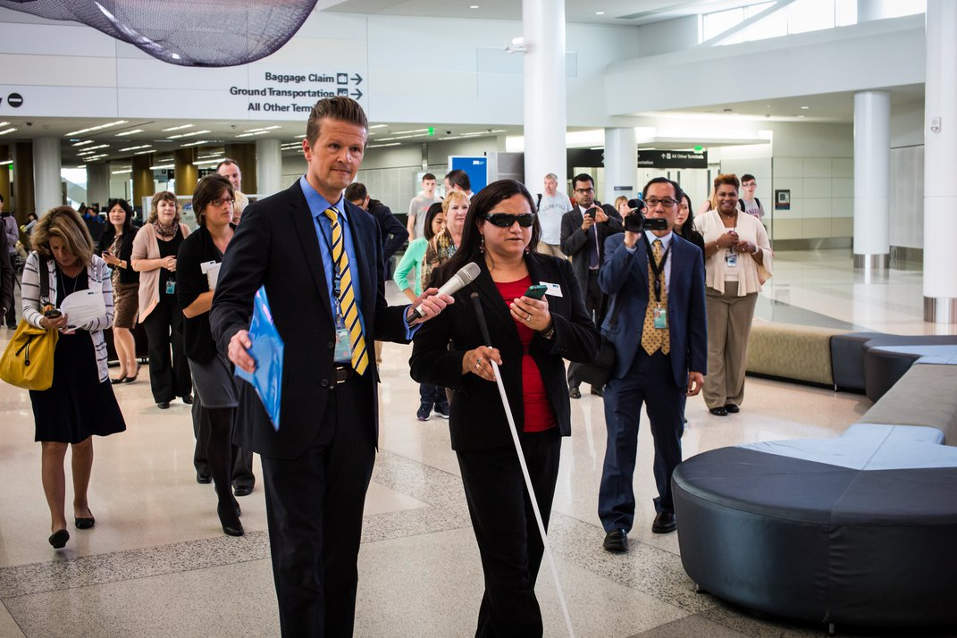 Indoor Mapping Lets the Blind Navigate Airports