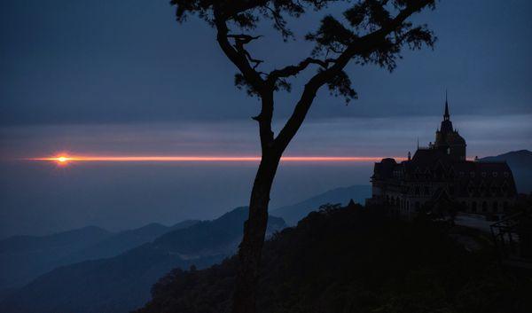 Sunset in Tamdao, North Vietnam thumbnail