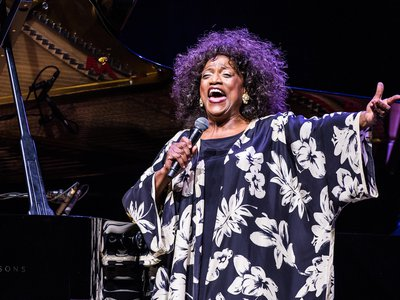 Jessye Norman at L'Olympia on June 26, 2012.