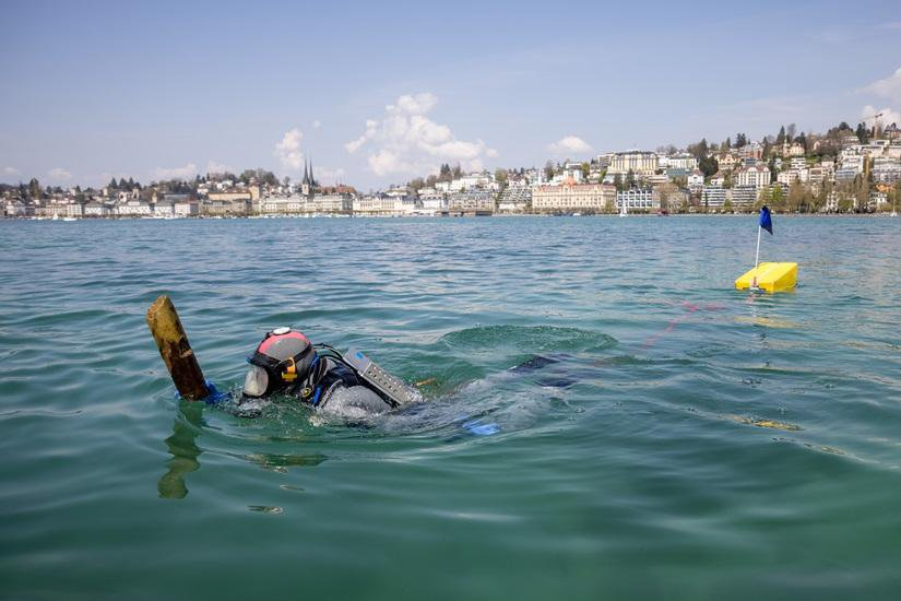 3,000-Year-Old Submerged Settlement Discovered in Switzerland