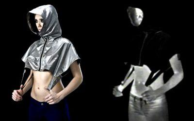The Stealth Wear hoodie in thermal IR