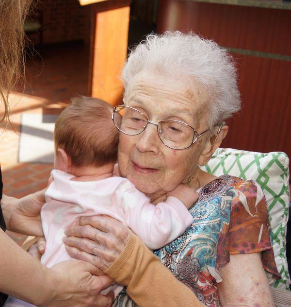 Living long enough to see a great granddaughter thumbnail