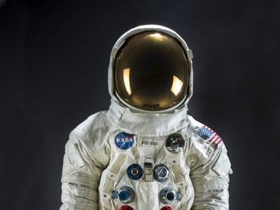 In 2019, 50 years after the Apollo 11 moon landing, Neil Armstrong's spacesuit stands as one of the most significant artifacts in the world.