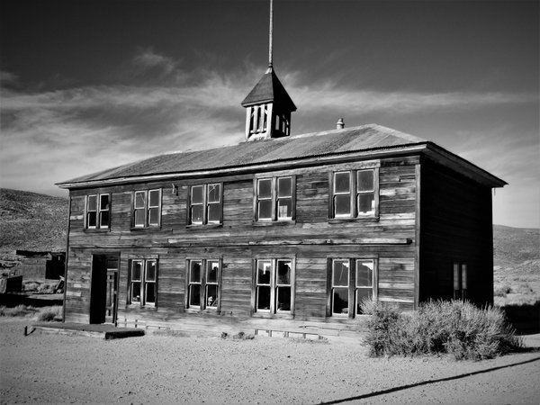 The Old School House in the Historic town of Bodie, CA thumbnail