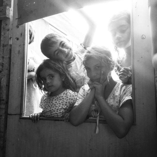 Syrian Children in Vasiliká Refugee Camp thumbnail