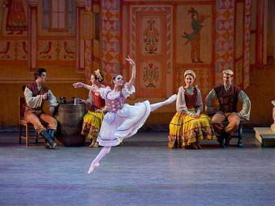 """Misty Copeland sees dance as a """"language and a culture that people from everywhere, all over the world, can relate to and understand and come together for."""""""