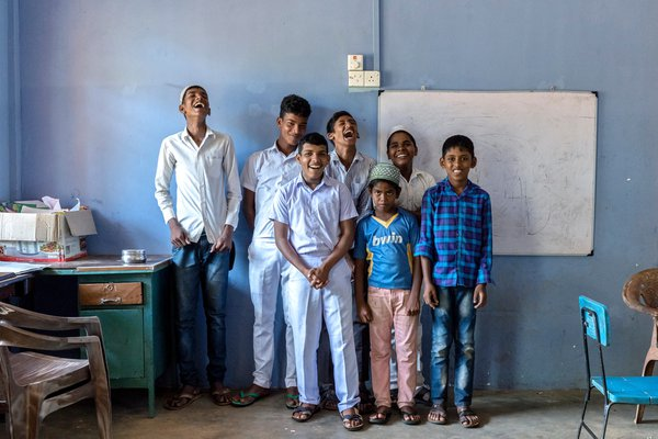 A group photo of special children of Kattankudy thumbnail