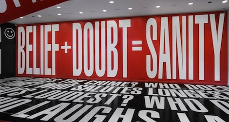 The artist who transformed the Hirshhorn will be in the building Thursday to explain why.