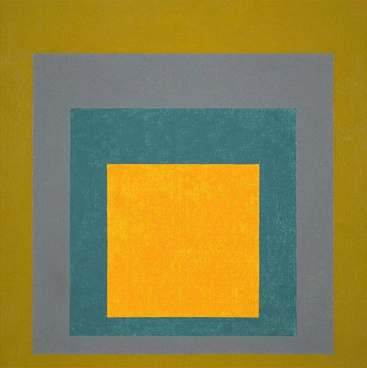 Homage to the Square Elected II