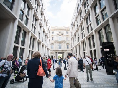 The Humboldt Forum opened in the heart of Berlin on July 20.