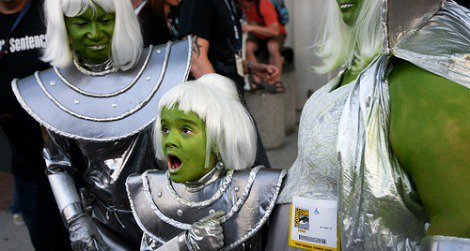 """The best place to find """"aliens"""" might be Comic-Con (2008, credit"""