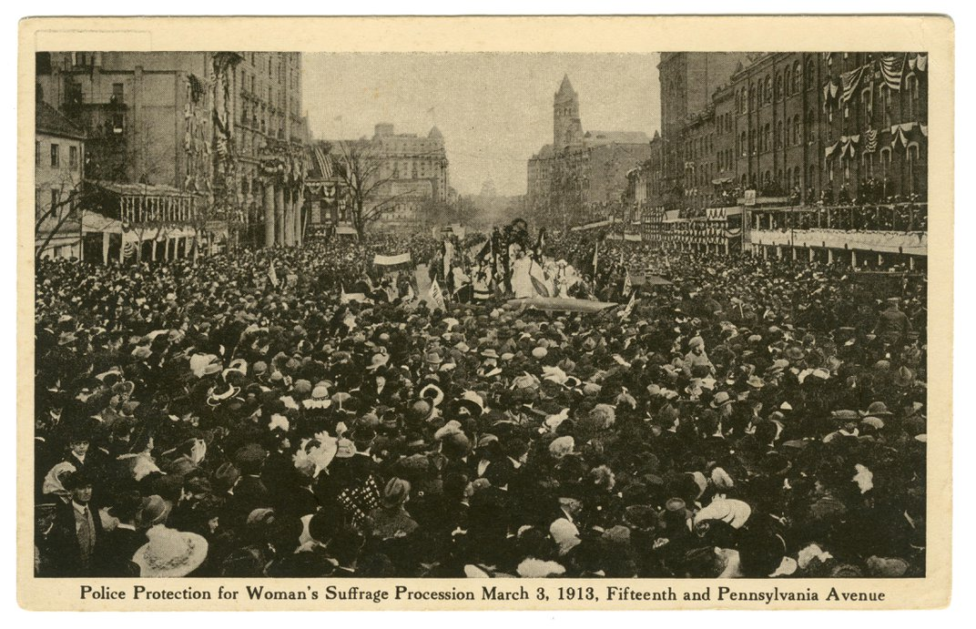 The Long Battle for Women's Suffrage