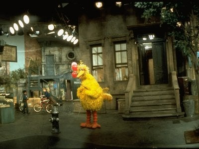 """The design of """"Sesame Street"""" was based on rows of brownstones found in Manhattan's Harlem and Upper West Side and the Bronx."""