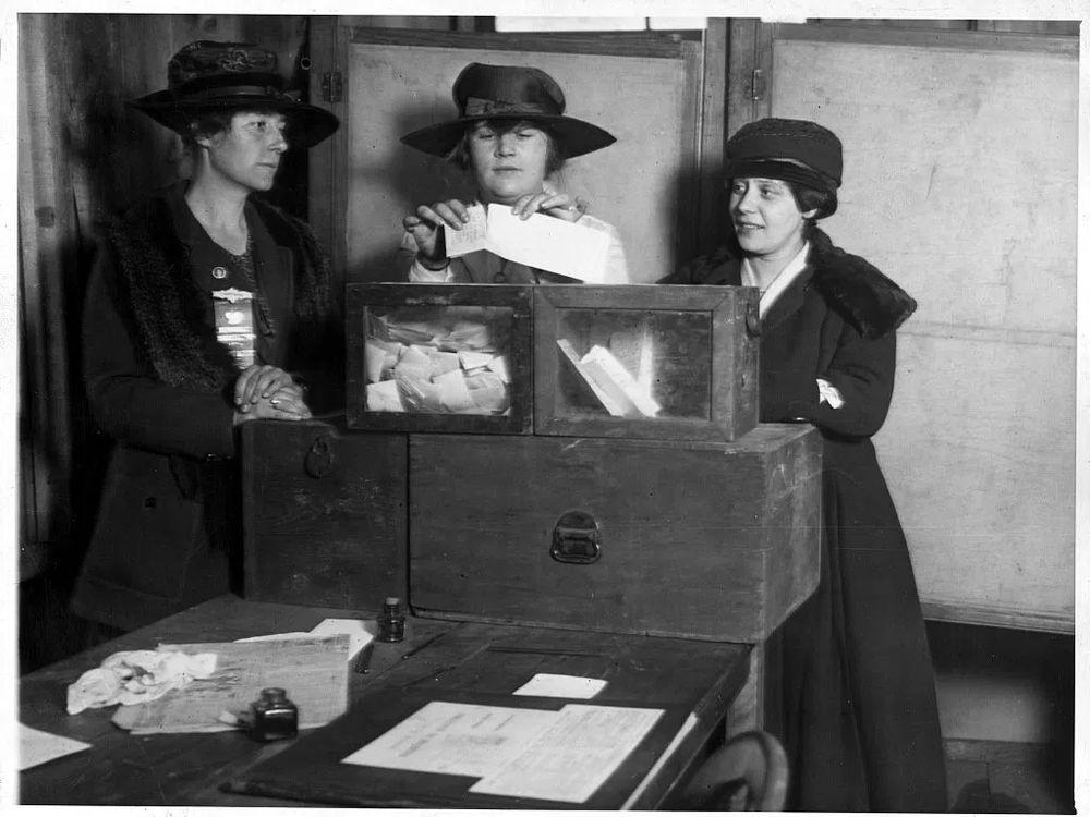 Wyoming Women Voting