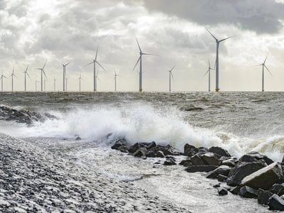 Researchers show there's potential for wind turbines to divert hurricane rains.
