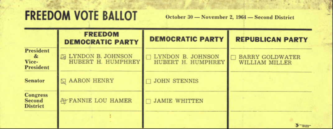Fannie Lou Hamer's Dauntless Fight for Black Americans' Right to Vote