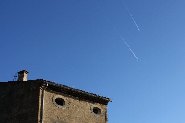 Fenestrations And Contrails At Gordes thumbnail