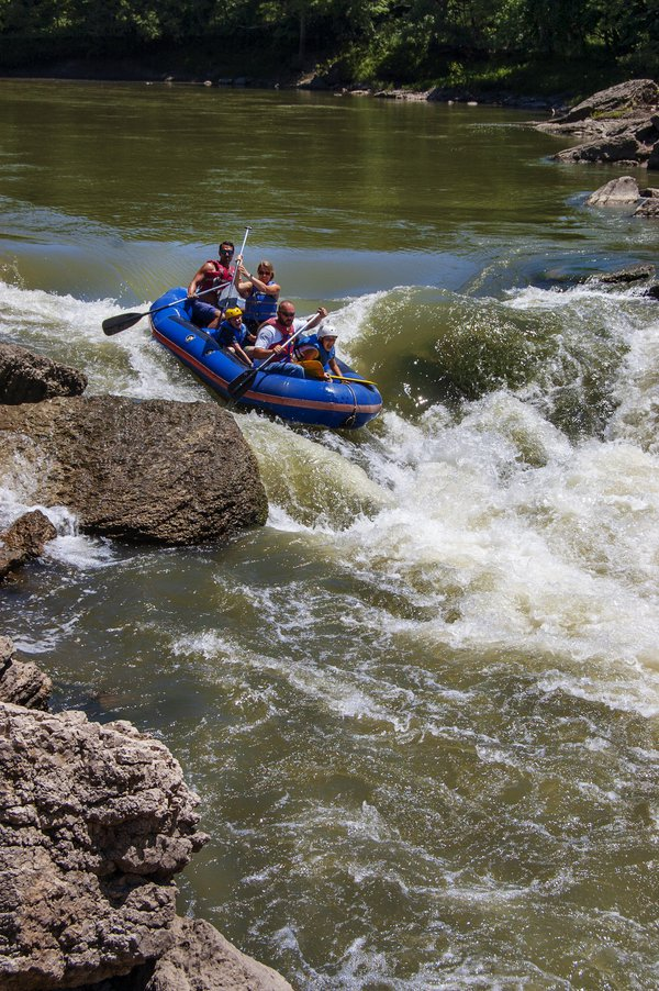 Braving the Wildcat on the Vermillion River, Illinois thumbnail
