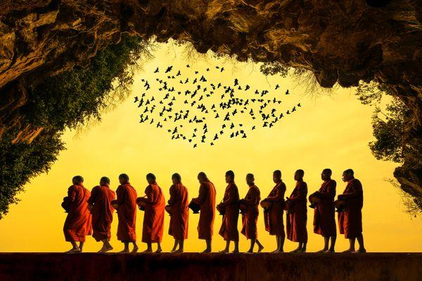 Buddhist monks thumbnail