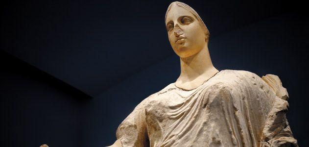 La Dea statue